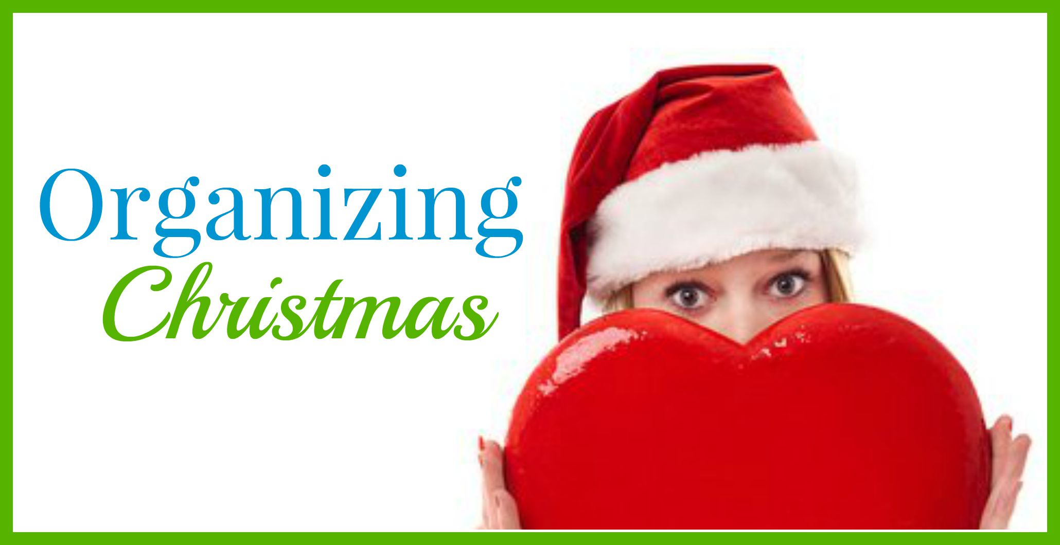 Organizing Christmas header