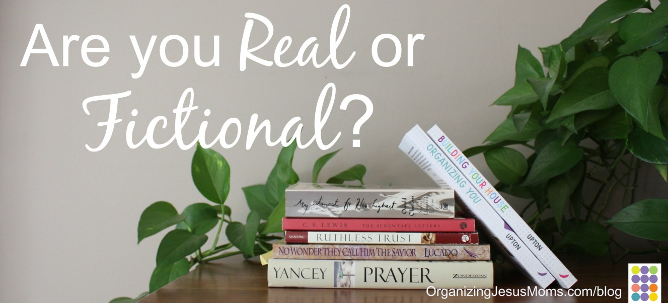 Are you Real or Fictional?