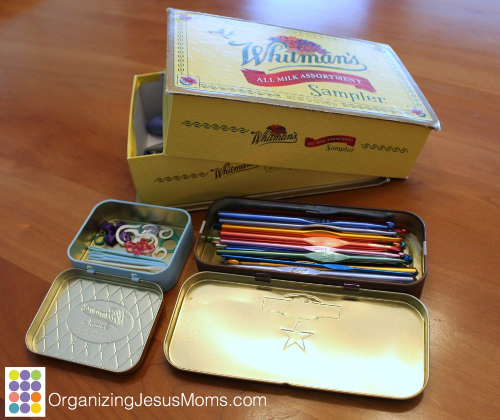Unexpected Organizing for Craft Supplies – Organizing You